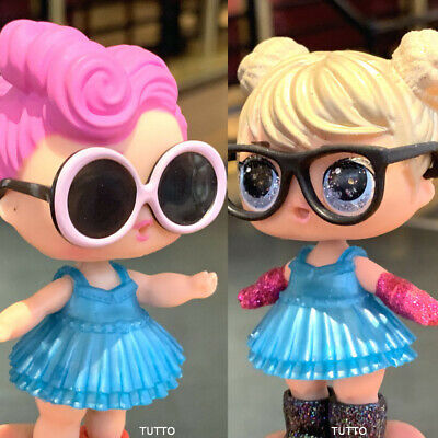 Lot 2 LOL Surprise Dolls Wave & Curious QT Glitter eye Real L.O.L. for kid gift
