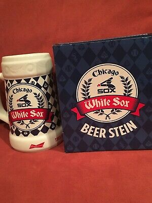 CHICAGO WHITE SOX GIVEAWAY BEER STEIN MUG vs Rangers Aug 24