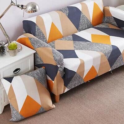 UK Sofa Cover Universal Couch Cover Elastic Slipcovers Furniture Covers