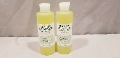 New Lot 2 Pair Mario Badescu Special Cucumber Lotion 16 oz Total
