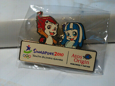 2010 Singapore Youth Olympic Games Atos Origin Worldwide Rare New MINT First