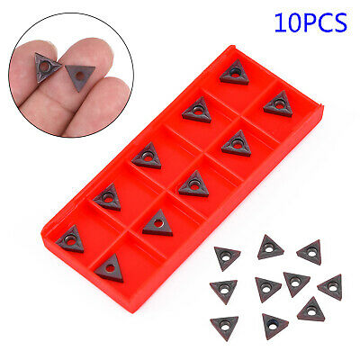 Carbide Insert C6 Grade For 1//4 /& 5//16/'/' Turning Tools 10Pcs High Quality Useful