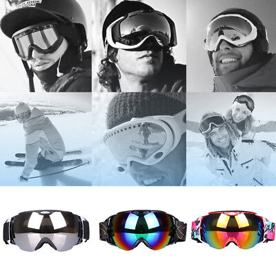 Cn _ Adultes Ski Hiver Lunettes Double Couches UV400 Antibrouillard Masque Str