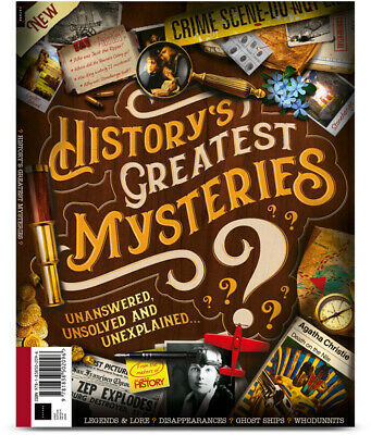 All About History HISTORY'S GREATEST MYSTERIES Issue 01 2019 Magazine
