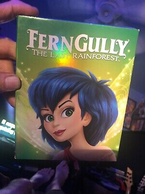 Ferngully: The Last Rainforest Blu-ray/DVD 2 Discs 1992 Free Shipping