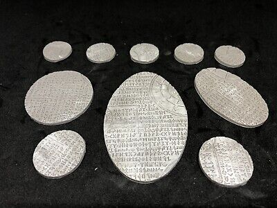 60mm*35mm Runic CAVALRY BASES Wargames Warhammer Age Of Simar 5
