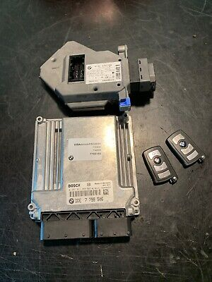 BMW 7 SERIES E65 E66 3.0d ECU KIT DIESEL ENGINE 2 KEY FAB LOCK