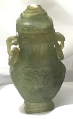 Chinese Exquisite Hand carved jade snuff bottle Exceptional L@@K