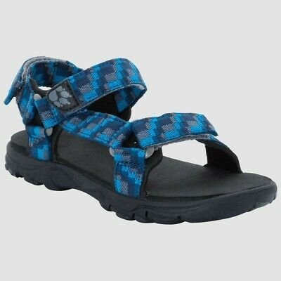 JACK WOLFSKIN GRIVLA TEXAPORE MID G Kids Trainers Blue