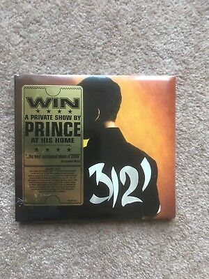 Prince 3121 - sealed CD with gold ticket promo