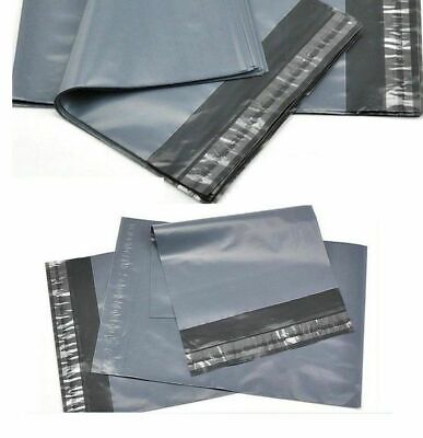 OFFER Grey Bags Small Medium Large Strong Seal Waterproof Post Parcel Packing