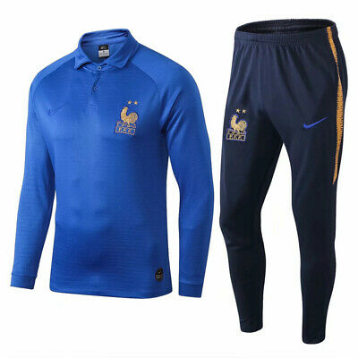 Ensemble Survetement Equipe de France bleu ciel 2 etoiles collection 2019/2020