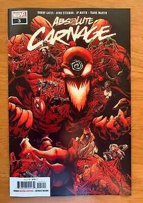 ABSOLUTE CARNAGE #3 Stegman Main Cover A 1st Print Marvel 2019 NM+