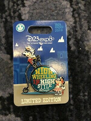 D23 Disney Expo 2019: Dream Store: Dapper: Mickey and Minnie Bicycle LE Pin