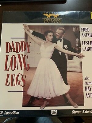 NEW SEALED!! DADDY LONG LEGS, EXTENDED PLAY LASERDISC Fred Astaire