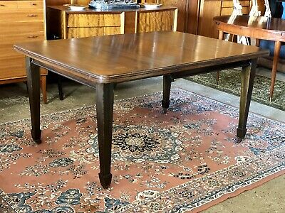 Antique Victorian Wind Out Extending Dining Table