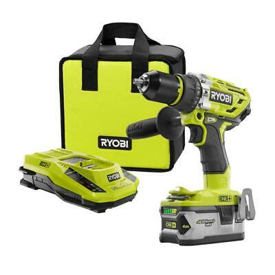 """Cordless 1/2"""" Hammer Drill/Driver Kit w/ 4.0Ah LITHIUM+ Battery, Charger & Bag"""