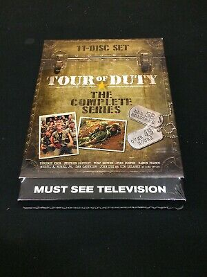 Tour of Duty - The Entire Series 3-Pack (DVD, 2015, 11-Disc Set) New! Sealed!