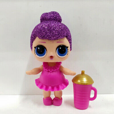 lol doll Big Sister Series Glitter Purple Hair Pink Dress Kids Birthday Gift
