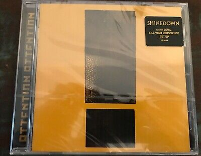 Shinedown Attention Attention New Cd