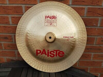 PAISTE 2002  China Cymbal 20""