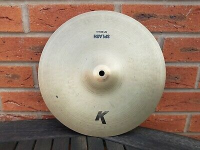 "Zildjian  K Splash 12""  from  90'S"