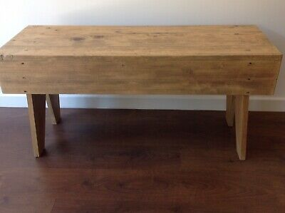Original,  Antique, Victorian, Pine, Farmhouse, Low Preparation / Pig Table.