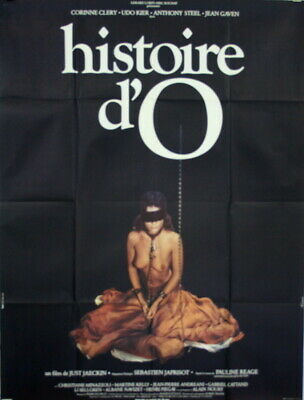 Corinne Clery Udo Keir Anthony Steel HISTOIRE D'O Just Jackin 1975 120x160 B