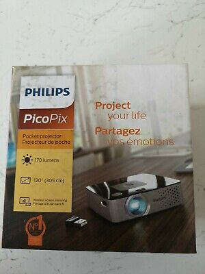Philips Picopix 3417w Smart Wireless Projector LED pocket-size DLP 170 Lumens ki