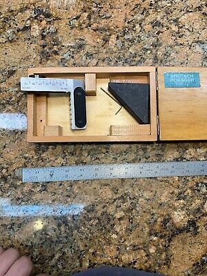 BRUTSCH RUEGGER Precision Granite Angle Measurement Swiss R493