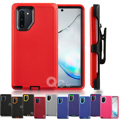 For Samsung Galaxy Note 10/10+ Case w/ Belt (Clip Fits OtterBox Defender)