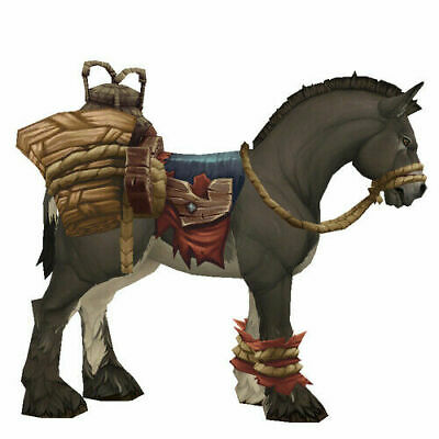 Chewed-On Reins of the Terrified Pack Mule * Wow * mount * EU servers only