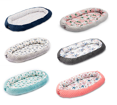 Newborn Baby Cocoon Sleep Nest Cushion Breathable Snuggle Pod