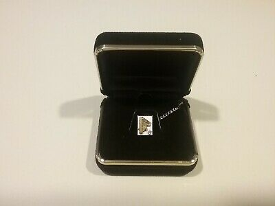 VINTAGE Lineman 10K GOLD DIAMOND PIN EMB with Sterling Clip