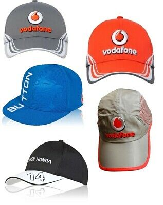 CAPS X 5 Different Formula One 1 F1 Job Lot McLaren Team Button Alonso DE