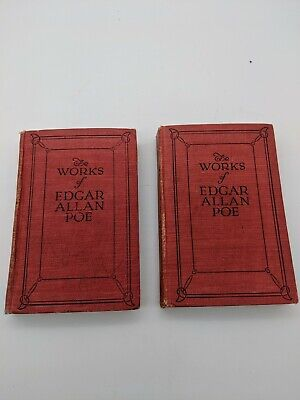 Antique Books The Works Of Edgar Allan Poe Viii Iv Humor And Detection Of Crime