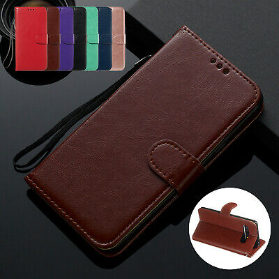 For Samsung Galaxy Note 10+ Plus Case Deluxe Magnetic Leather Stand Wallet Cover