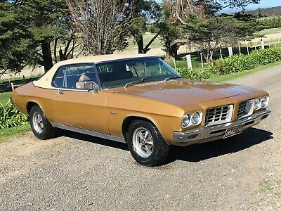 1972 holden HQ monaro coupe 253 V8 auto, rare options