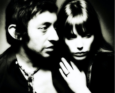 Serge Gainsbourg / Jane Birkin , Beautiful Print !!!