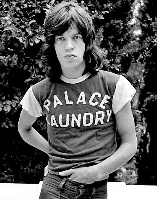 Mick Jagger Vintage (70S) , Beautiful Print !!!