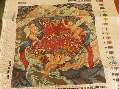 "Ehrman Tapestry Kit ""Cherubs"" by Candace Bahouth now discontinued"