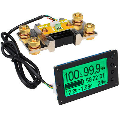 TF03 100V 500A Universal Battery Capacity Tester Voltage Current Indicator N3R1