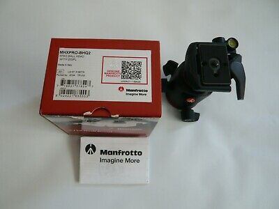Manfrotto XPRO Ball Head, Magnesium Body with 200 PL Plate -boxed
