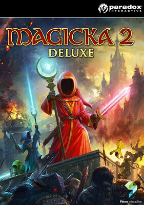 Magicka 2 Deluxe Edition (base game) STEAM KEY Code Digital - PC, Mac & Linux