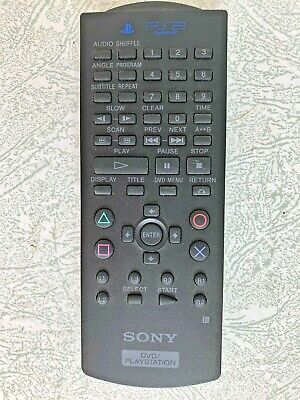 Sony PS2 Playstation 2 Official DVD Remote Control - Excellent Condition