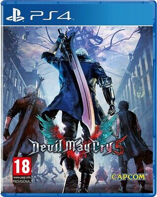 Devil May Cry 5 PS4 Spiel NEU OVP Playstation 4