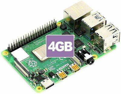 NEW Raspberry Pi 4 Model B with 4GB RAM (2019 Model) Made in UK IN STOCK