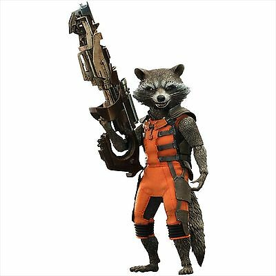 Hot Toys Movie Masterpiece Guardians of the Galaxy Rocket 1/6 Action Figure