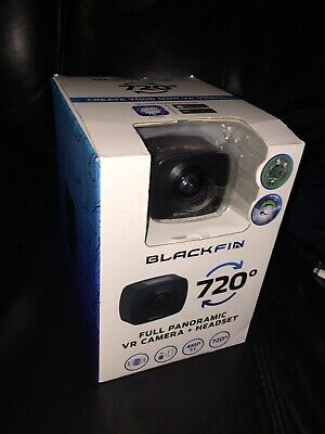 BLACK FIN BF-720AM 720 VR Action Camera & Headset - $31 50