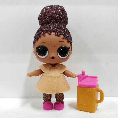 lol Surprise doll Big Sister Glitter Brown Hair Khaki Dress Girls Birthday Gift